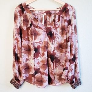 Bellatrix Floral Long Sleeve Blouse